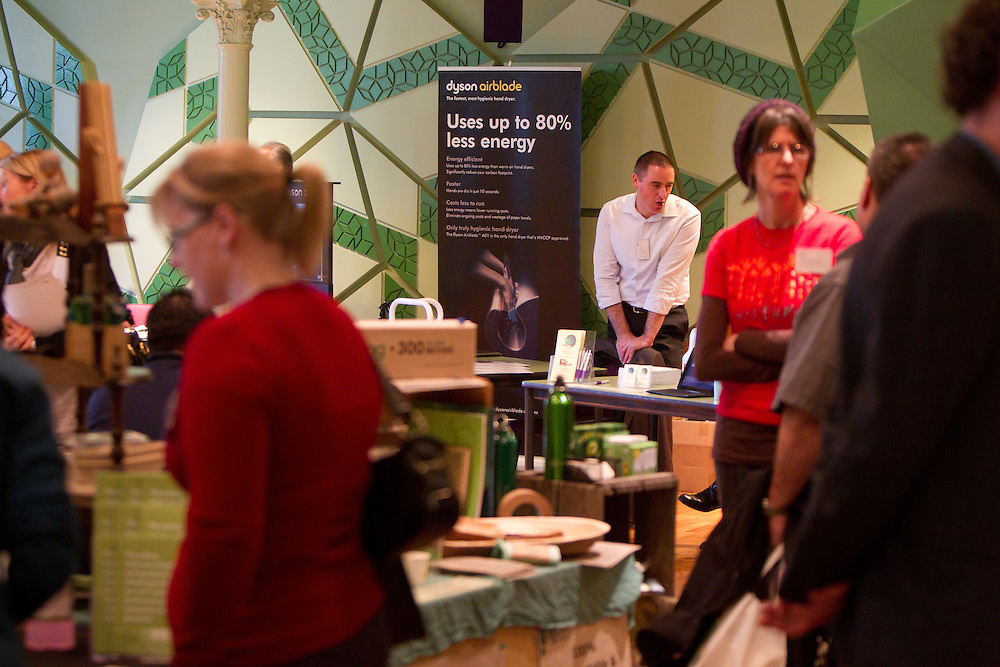 Storey Hall, RMIT, Mlebourne, Australia, 7th September 2010: ECO-Buy Puchasing Expo featuring green suppliers and products.  ECO-Buy is an award winning not for profit Centre of Excellence in Environmental Purchasing, established to encourage the purchasing of environmentally preferable products and services.
