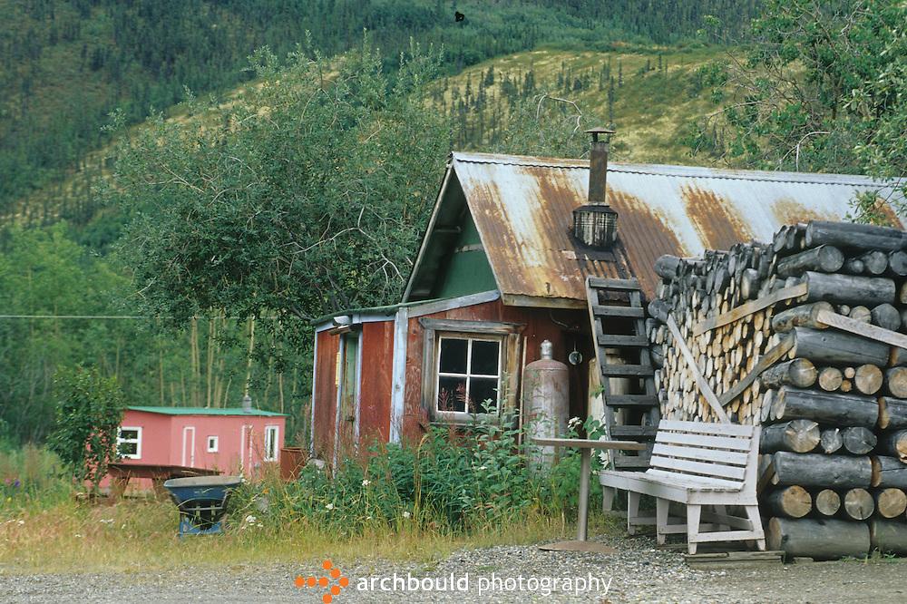 Buildings in Keno, Yukon