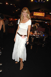 BARONESS STEPHEN BENTINCK, she is actress Lisa Hogan at the London Red Cross Ball themed 'Honky Tonk Blues' held at 99 Upper Ground, London SE1 on 21st November 2007.<br /><br />NON EXCLUSIVE - WORLD RIGHTS