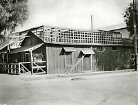 1903 Chinese laundry at Sunset Blvd. & Cahuenga Ave.