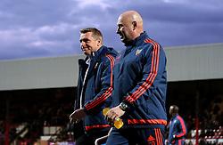 Brentford Manager Dean Smith - Mandatory by-line: Robbie Stephenson/JMP - 05/04/2016 - FOOTBALL - Griffin Park - Brentford, England - Brentford v Bolton Wanderers - Sky Bet Championship