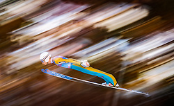 31.12.2017, Olympiaschanze, Garmisch Partenkirchen, GER, FIS Weltcup Ski Sprung, Vierschanzentournee, Garmisch Partenkirchen, Qualifikation, im Bild Daniel Huber (AUT) // Daniel Huber of Austria during his Qualification Jump for the Four Hills Tournament of FIS Ski Jumping World Cup at the Olympiaschanze in Garmisch Partenkirchen, Germany on 2017/12/31. EXPA Pictures © 2018, PhotoCredit: EXPA/ JFK