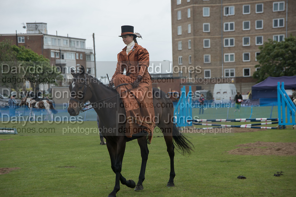 NICOLA WATSON, Bexhill Horse show. Polegrove, Bexhill on Sea. 29 May 2016