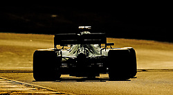 Mercedes Lewis Hamilton during day four of pre-season testing at the Circuit de Barcelona-Catalunya.