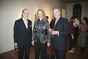 Prince and Princess Michael of Kent and John Hemming, Misadventure In the Middle East. Travels As a Tramp, Artist and Spy by Henry Hemming. Book launch and exhibition. Paradise Row. London. E2.  -DO NOT ARCHIVE-© Copyright Photograph by Dafydd Jones. 248 Clapham Rd. London SW9 0PZ. Tel 0207 820 0771. www.dafjones.com.