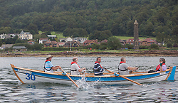 Largs Regatta Week 2015, hosted by Largs Sailing Club and Fairlie Yacht Club<br /> <br /> Firth of Clyde Community Rowing Club ( FOCCRC )regatta , Carrick Maid<br /> <br /> <br /> Credit Marc Turner