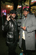 """Black Thought and Peter Hadar at The Roots Album realease party for """" Roots Down at Sutra on April 29, 2008"""".. The Legendary Roots Crew, the influential, Grammy Award-winning American band from Philadelphia, Pennsylvania, famed for a heavily jazzy sound and live instrumentation, have made 10 Albums to date."""