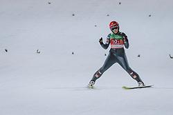 26.02.2021, Oberstdorf, GER, FIS Weltmeisterschaften Ski Nordisch, Oberstdorf 2021, Damen, Skisprung, HS106, Teambewerb, im Bild Daniela Iraschko-Stolz (AUT) // Daniela Iraschko-Stolz of Austria during women ski Jumping HS106 Team Competition of FIS Nordic Ski World Championships 2021. Oberstdorf, Germany on 2021/02/26. EXPA Pictures © 2021, PhotoCredit: EXPA/ Dominik Angerer