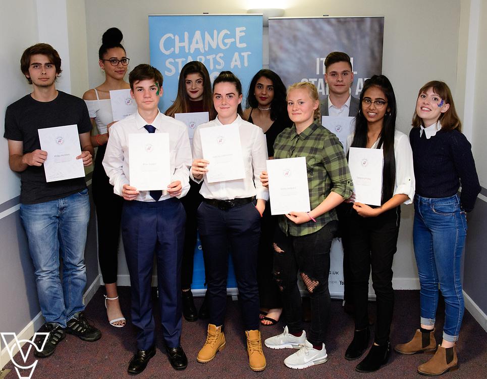 Cohort 1 - Team 2 | NCS EM1 graduation ceremony held at The Castle Theatre, Wellingborough, Northamptonshire.<br /> <br /> Picture: Chris Vaughan Photography<br /> Date: September 13, 2017