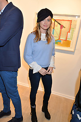 CRESSIDA BONAS at a private view entitled Stop Making Sense featuring work by Georgiana Anstruther and Carol Corell held at Lacey Contemporary, 8 Clarendon Cross, London on 9th March 2016.