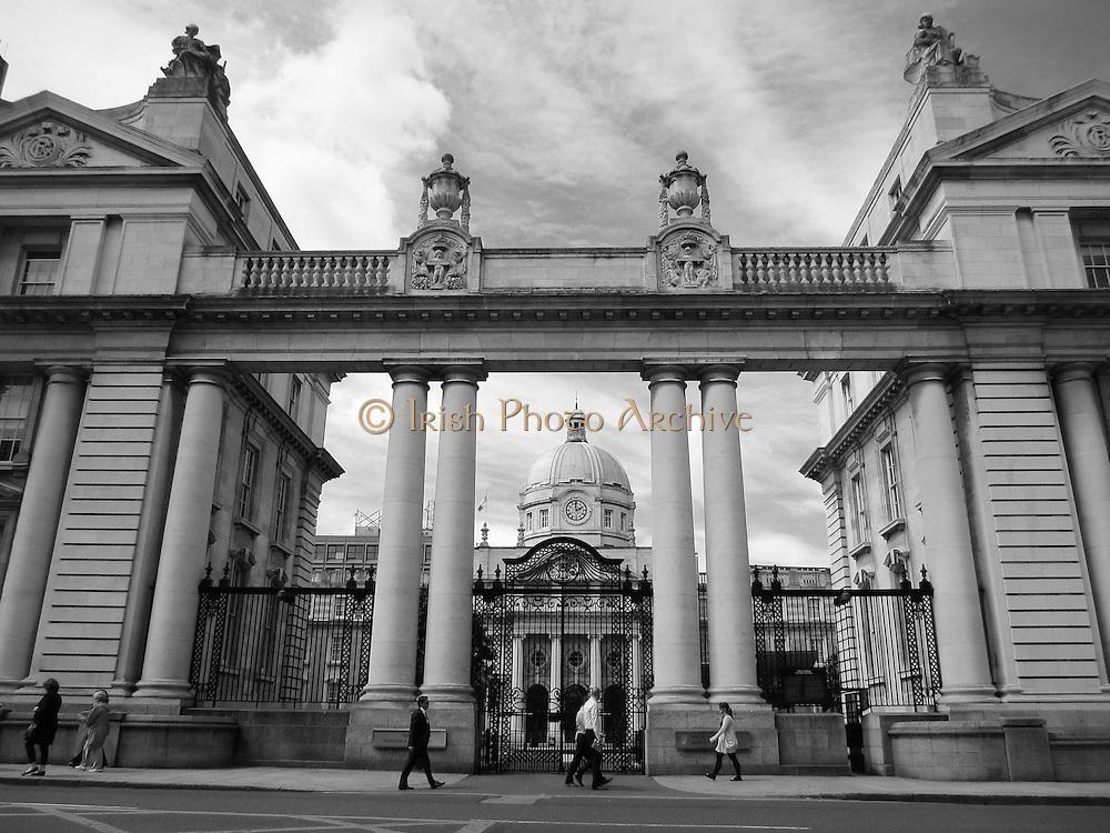 Government Buildings, Merrion Square, Dublin, Ireland