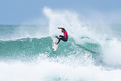 Jul 16, 2017 - Jeffries Bay, South Africa - Jordy Smith of South Africa advances to Round Three of the Corona Open J-Bay after defeating friend, wildcard and fellow South African Dale Staples in Heat 1 of Round Two at Supertubes. (Credit Image: © Kelly Cestari/World Surf League via ZUMA Wire)