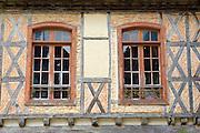 Windows, Labastide d'Armagnac, France