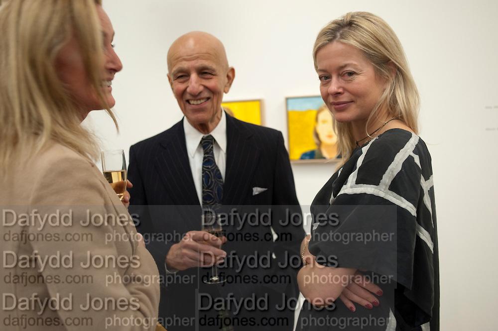 BETTINA BALHSEN; ALEX KATZ; LADY HELEN TAYLOR, Alex Katz opening. Timothy Taylor gallery. London. 3 March 2010.