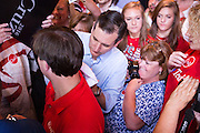 U.S. Senator and GOP presidential candidate Ted Cruz  signs autographs for supporters during a campaign stop at the Liberty Tap Room restaurant August 7, 2015 in Mt Pleasant, South Carolina. The event was the kick off for a seven-day bus tour called the Cruz Country Bus Tour of southern states.