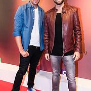 NLD/Amsterdam/20161117 - Jaarpresentatie SBS 2016 voor relatie's, Nick & Simon, Nick Schilder en Simon Keizer