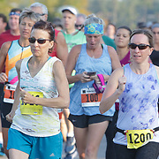 Runners participate in the 2019 Oktoberfest 15K & 5K Sponsored by Novant Health Oceanside Family Medicine and The Joyce Irish Pub Sunday September 29, 2019 at Brunswick Forest in Leland, N.C.