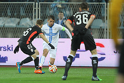 27.11.2014, Stadium Kantrida, Rijeka, CRO, UEFA EL, HNK Rijeka vs FC Standard Liege, Gruppe G, im Bild Anas Sharbini // during the UEFA Europa Lduring the UEFA Europa League group G match between HNK Rijeka and FC Standard Liege at the Stadium Kantrida in Rijeka, Croatia on 2014/11/27. EXPA Pictures © 2014, PhotoCredit: EXPA/ Pixsell/ Nel Pavletic<br /> <br /> *****ATTENTION - for AUT, SLO, SUI, SWE, ITA, FRA only*****