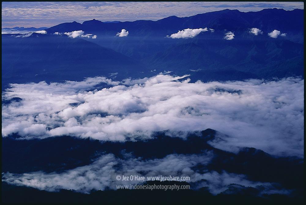 Gunung Susu (Mountain Milk) is a pilot's checkpoint when passing the Kobowre mountain range, Paniai, Papua. Indonesia.