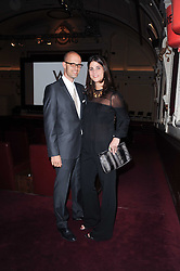EDOARDO PONTI and KATRINA PAVLOS at a screening of the short film 'Away We Stay' directed by Edoardo Ponti held at The Electric Cinema, Portobello Road, London W1 on 15th November 2010.