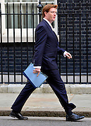 © Licensed to London News Pictures. 18/09/2012. Westinster, UK Treasury Secretary Danny Alexander. Cabinet meeting today in Downing Street 18 September 2012. Photo credit : Stephen Simpson/LNP