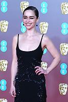 Emilia Clarke, EE British Academy Film Awards, Royal Albert Hall, London, UK, 02 February 2020, Photo by Richard Goldschmidt
