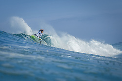 October 12, 2017 - Keanu Asing (HAW) Placed 3rd in Heat 5 of Round One at Quiksilver Pro France 2017, Hossegor, France..Quiksilver Pro France 2017, Landes, France - 12 Oct 2017 (Credit Image: © WSL via ZUMA Press)