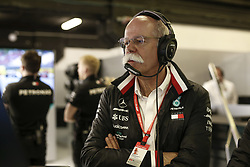 May 11, 2019 - Barcelona, Spain - Motorsports: FIA Formula One World Championship 2019, Grand Prix of Spain, ..Dr. Dieter Zetsche (GER, Chairman of the Board of Management of Daimler AG, Head of Mercedes-Benz Cars) (Credit Image: © Hoch Zwei via ZUMA Wire)