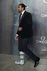 David Haye attending the Lost in Space event to celebrate the 60th anniversary of the OMEGA Speedmaster held in the Turbine Hall, Tate Modern, 25 Sumner Street, Bankside, London.
