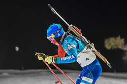 February 12, 2018 - Pyeongchang, Gangwon, South Korea - Marie Dorin Habert of France  competing at Women's 10km Pursuit, Biathlon, at olympics at Alpensia biathlon stadium, Pyeongchang, South Korea. on February 12, 2018. Ulrik Pedersen/Nurphoto  (Credit Image: © Ulrik Pedersen/NurPhoto via ZUMA Press)