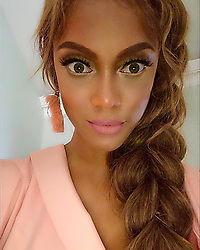 """Tyra Banks releases a photo on Instagram with the following caption: """"Braids or Boys or Dolls?"""". Photo Credit: Instagram *** No USA Distribution *** For Editorial Use Only *** Not to be Published in Books or Photo Books ***  Please note: Fees charged by the agency are for the agency's services only, and do not, nor are they intended to, convey to the user any ownership of Copyright or License in the material. The agency does not claim any ownership including but not limited to Copyright or License in the attached material. By publishing this material you expressly agree to indemnify and to hold the agency and its directors, shareholders and employees harmless from any loss, claims, damages, demands, expenses (including legal fees), or any causes of action or allegation against the agency arising out of or connected in any way with publication of the material."""