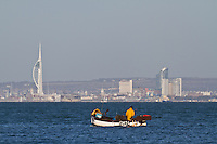 Fishing in the Solent