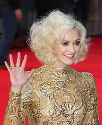 © Licensed to London News Pictures. 16/02/2014, UK. Fearne Cotton, British Academy Film Awards - BAFTAS, Royal Opera House, London UK, 16 February 2014. Photo credit : Richard Goldschmidt/Piqtured/LNP