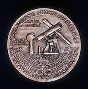 Dominique Francois Jean Arago (1786-1853) French astronomer, physicist and politician. Reverse of commemorative medal.