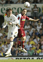 Photo: Aidan Ellis.<br /> Leeds United v Burnley. Coca Cola Championship. 14/04/2007.<br /> Leeds Alan Thompson (L) and Burnley's Paul McVeigh