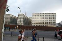 DEU, Deutschland, Germany, Berlin, 29.07.2013:<br />Der Neubau des Bundesnachrichtendienstes (BND) in der Chausseestrasse.