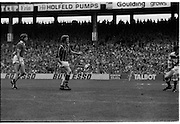 All Ireland Hurling Final - Cork vs Kilkenny.05.09.1982.09.05.1982.5th September 1982.Image of a job well done. Heffernan watches as goalkeeper Cunningham cannot prevent the ball crossing the line for Kilkenny's second goal.