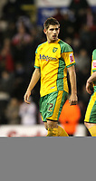 Photo: Paul Greenwood/Sportsbeat Images.<br />Stoke City v Norwich City. Coca Cola Championship. 01/12/2007.<br />Norwich's Ched Evans leaves the field at the end of the match