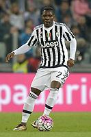 Qwadwo Asamoah Juventus,<br /> Torino 02-04-2016, Juventus Stadium, Football Calcio 2015/2016 Serie A, Juventus - Empoli, Foto Filippo Alfero/Insidefoto