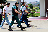 Police intervention in the RFEF (Spanish Football Federation) against corruption. The President of the RFEF, Angel Maria Villar, arrives arrested at the Soccer City of Las Rozas to proceed with the registration of his offices. July 18,2017. (ALTERPHOTOS/Acero)