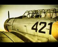 A world war II aeroplane