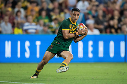 December 2, 2017 - Brisbane, Australie - Valentine Homes of Australia during the Rugby League World Cup Men s Final match between Australia and England at Brisbane Stadium, Brisbane, Australia on 2 December 2017. (Credit Image: © Panoramic via ZUMA Press)