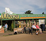 Amazonia rainforest jungle attraction Great Yarmouth, Norfolk, England