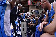 DESCRIZIONE : Campionato 2014/15 Dinamo Banco di Sardegna Sassari - Vanoli Cremona<br /> GIOCATORE : Cesare Pancotto<br /> CATEGORIA : Allenatore Coach Time Out<br /> SQUADRA : Vanoli Cremona<br /> EVENTO : LegaBasket Serie A Beko 2014/2015<br /> GARA : Dinamo Banco di Sardegna Sassari - Vanoli Cremona<br /> DATA : 10/01/2015<br /> SPORT : Pallacanestro <br /> AUTORE : Agenzia Ciamillo-Castoria / Luigi Canu<br /> Galleria : LegaBasket Serie A Beko 2014/2015<br /> Fotonotizia : Campionato 2014/15 Dinamo Banco di Sardegna Sassari - Vanoli Cremona<br /> Predefinita :