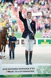 William Fox Pitt and Chilli Morning won bronze in Eventing - Alltech FEI World Equestrian Games™ 2014 - Normandy, France.<br /> © Hippo Foto Team - Jon Stroud<br /> 31-08-14