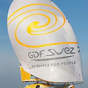 Sébastien Rogues sur Class 40 / GDF SUEZ