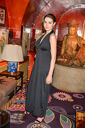 GENEVIEVE GAUNT at an intimate performance by Jessie Ware at Annabel's, Berkeley Square, London on 20th April 2016.