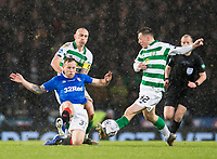 Football - 2019 Betfred Scottish League Cup Final - Celtic vs. Rangers<br /> <br /> Scott Arfield of Rangers vies with Callum McGregor of Celtic, Hampden Park Glasgow.<br /> <br /> COLORSPORT/BRUCE WHITE