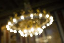 26.02.2015, Parlament, Wien, AUT, Parlament, Konstitiuierende Sitzung zum Untersuchungsausschuss zur Causa Hypo Alpe Adria. im Bild Luster im Sitzungssaal (Lokal VI) // during constituitve meeting of parliamentary enquiry committee according to Hypo Alpe Adria case at austrian parliament in Vienna, Austria on 2015/02/26, EXPA Pictures © 2015, PhotoCredit: EXPA/ Michael Gruber