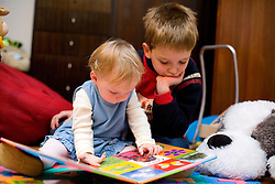 Child reading. (Photo by Vid Ponikvar / Sportal Images)